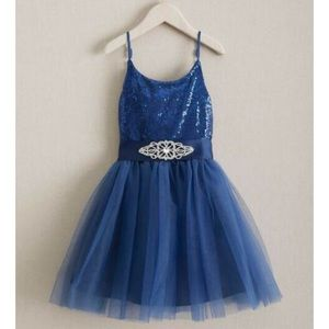 Navy Chasing Fireflies tulle dress size 12